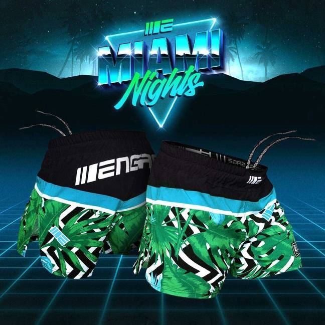 Engage Miami Nights MMA Hybrid Fight Shorts