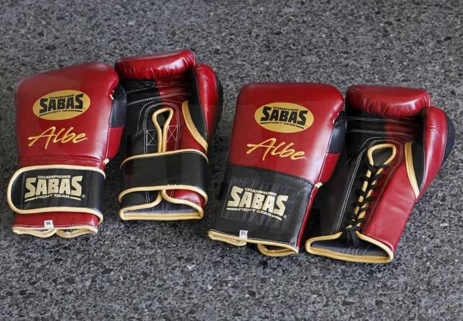 Custom boxing gloves: SABAS