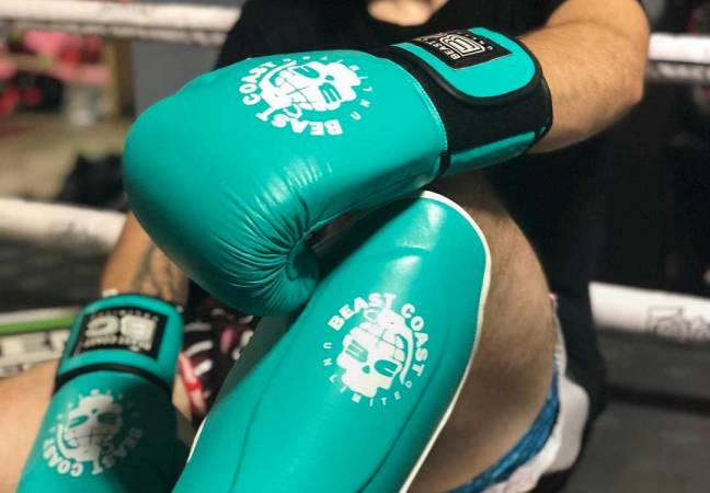 Custom boxing gloves: Beast Coast Unlimited