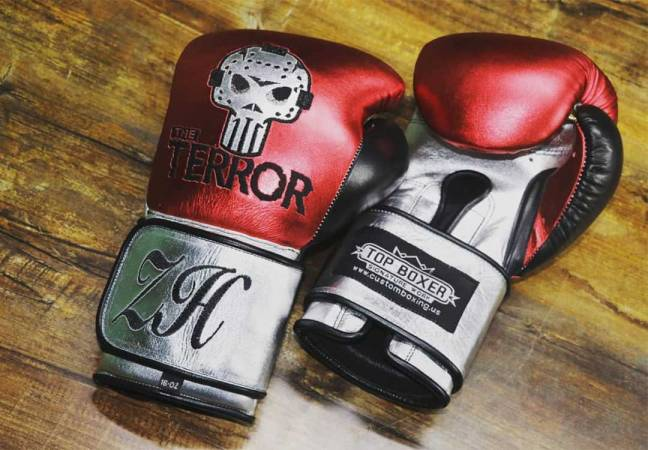 Custom boxing gloves: TopBoxer