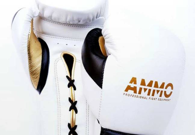 Custom boxing gloves: AMMO Boxing