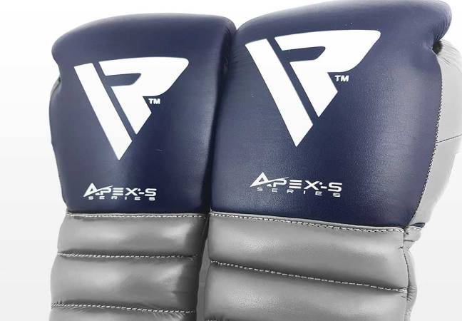 Example Professional Gloves: RDX A4 Professional Boxing Gloves