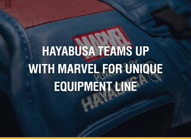 Hayabusa Teams Up With Marvel For Unique Equipment Line