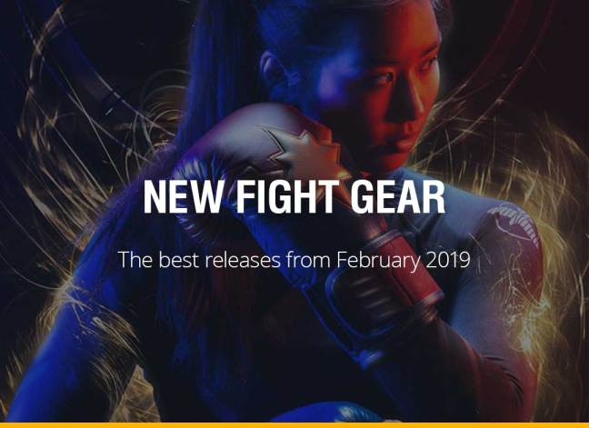 New Fight Gear - February 2019