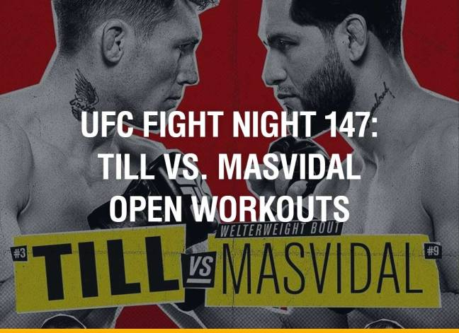 UFC Fight Night 147: Till vs. Masvidal Open Workouts