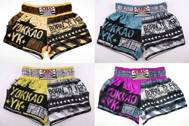 Yokkao Hustle Shorts range