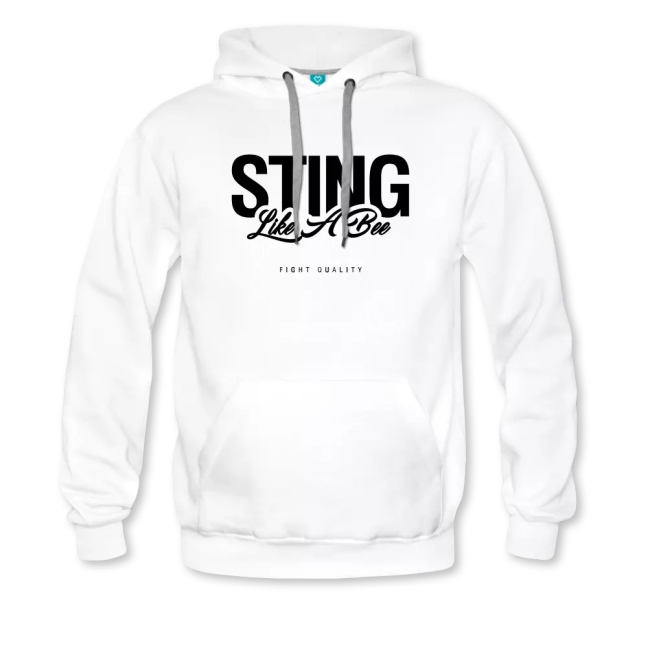 Mens Sting Like A Bee Hoodie