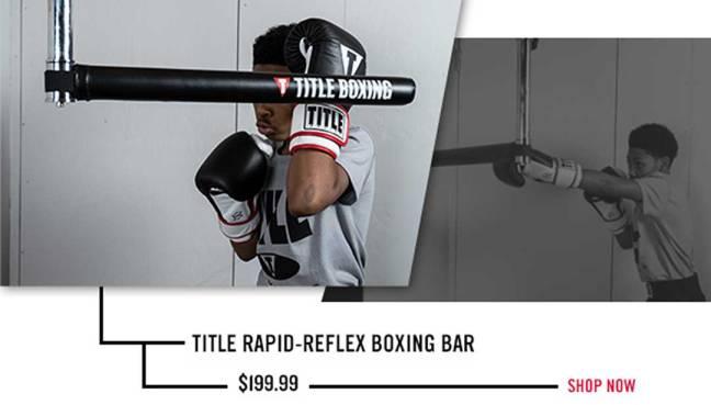 TITLE Rapid-Reflex Boxing Bar