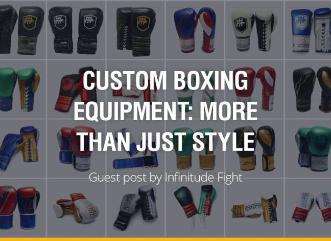 Custom Boxing Equipment: More than Just Style