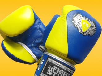 InFightStyle Domino Muay Thai Boxing Gloves