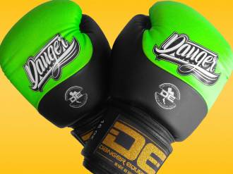 Danger Evolution DT Semi-Leather Sparring/Training Boxing Gloves (16oz) Review