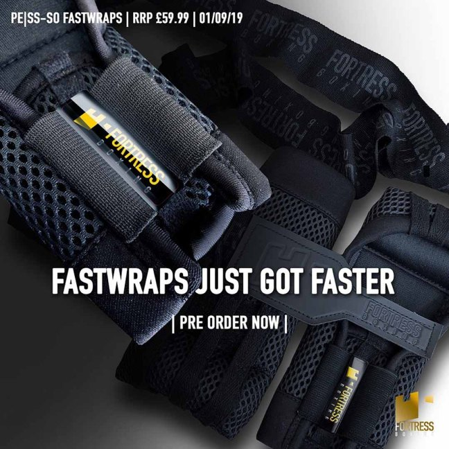 FORTRESS BOXING PROelite | Super Slim, Slip-on ( Pe|SS-SO ) Fastwraps