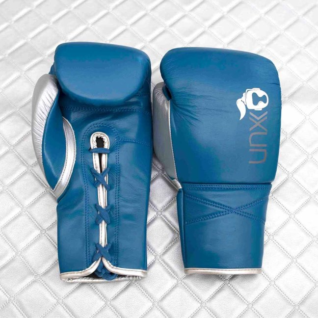 Unorthodoxx Elite Spar Blu Boxing Gloves