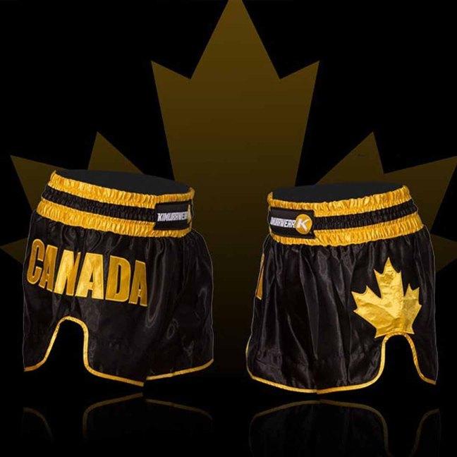 Kimurawear Proudly Canadian Muay Thai Shorts