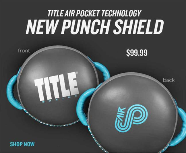 Title Air Pocket Punch Shield