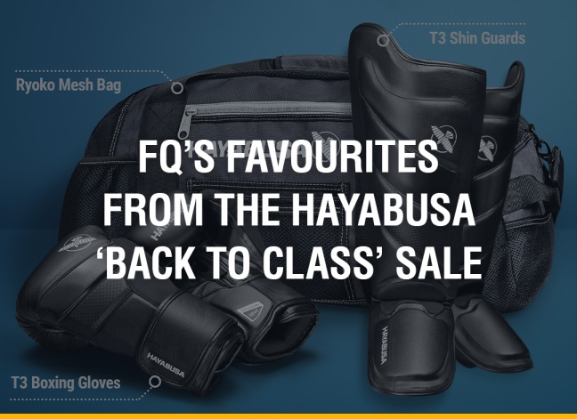 FQ's Favourites From The Hayabusa 'Back to Class' Sale