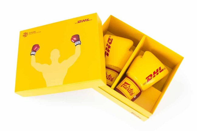 DHL X Fairtex Boxing Gloves
