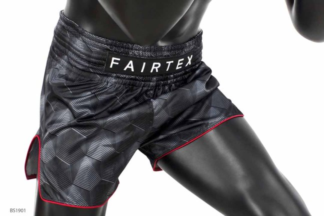 "Fairtex BS1901 ""Stealth"" Muay Thai Shorts"