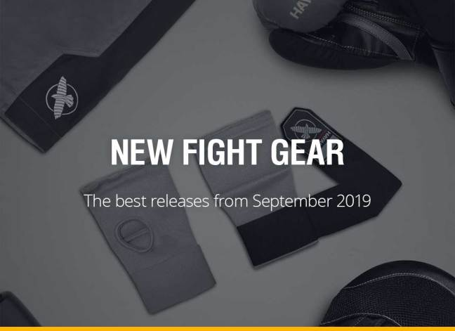 New Fight Gear - September 2019