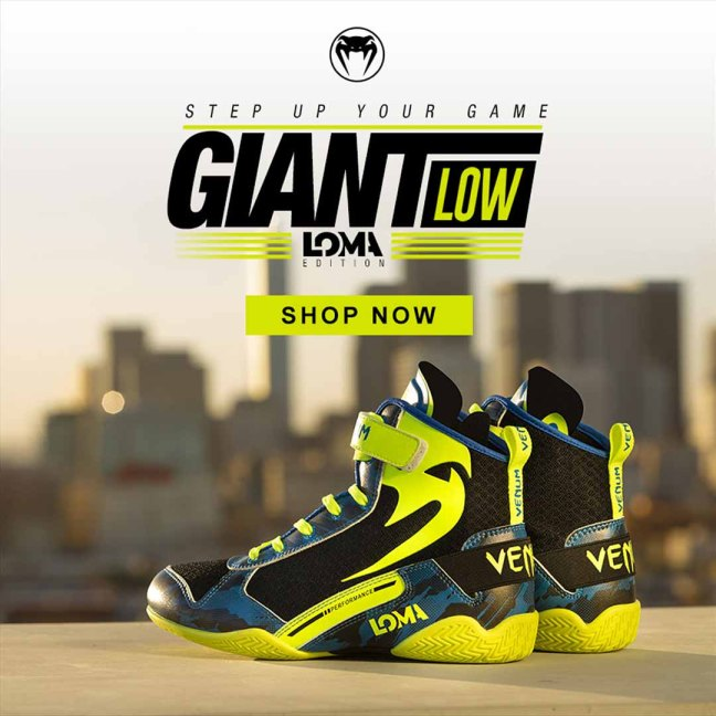 Venum Giant Low LOMA Edition Boxing Shoes