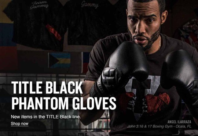TITLE Black Phantom Bag Gloves