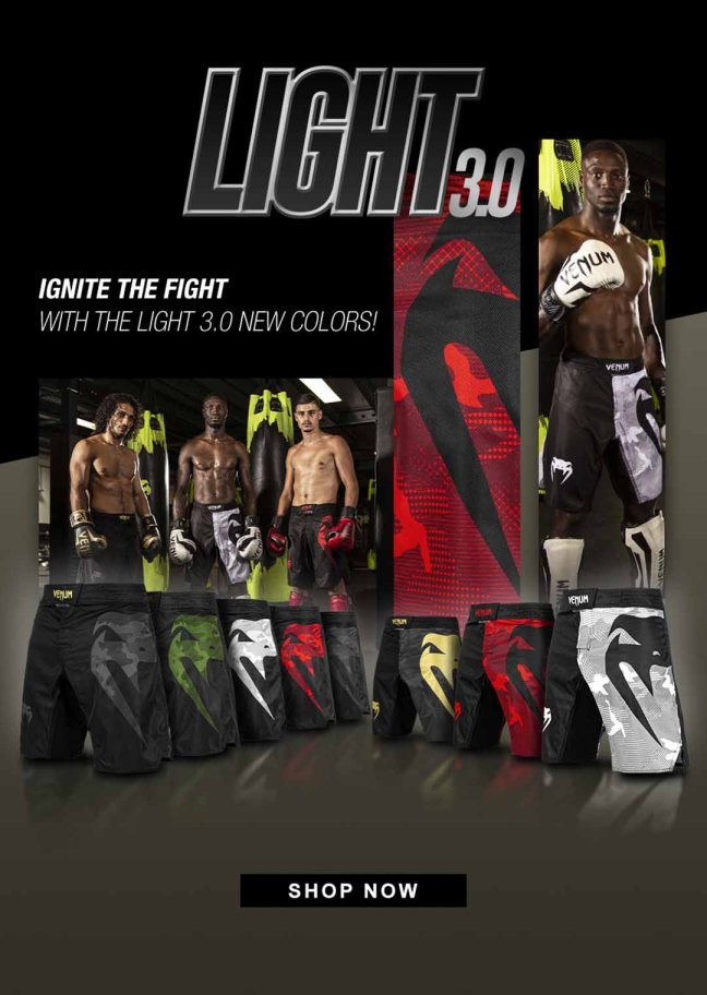 Venum Light 3.0 Range