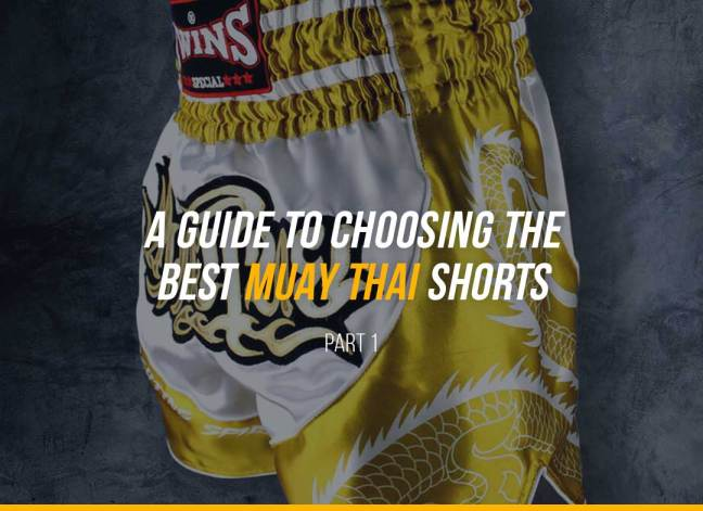 A Guide to Choosing the Best Muay Thai Shorts - Part 1