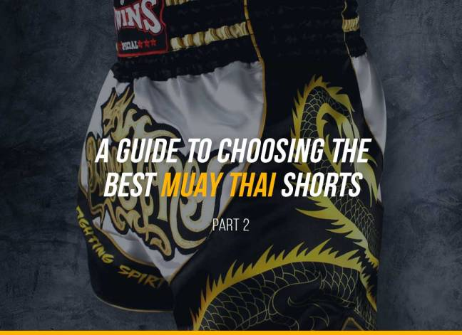 A Detailed Guide to Choosing the Best Muay Thai Shorts - Part 2
