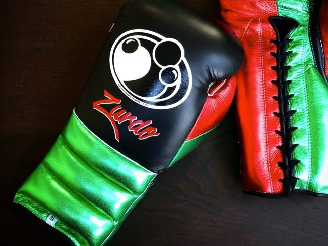 Grant Hand Painted Customised Boxing Gloves