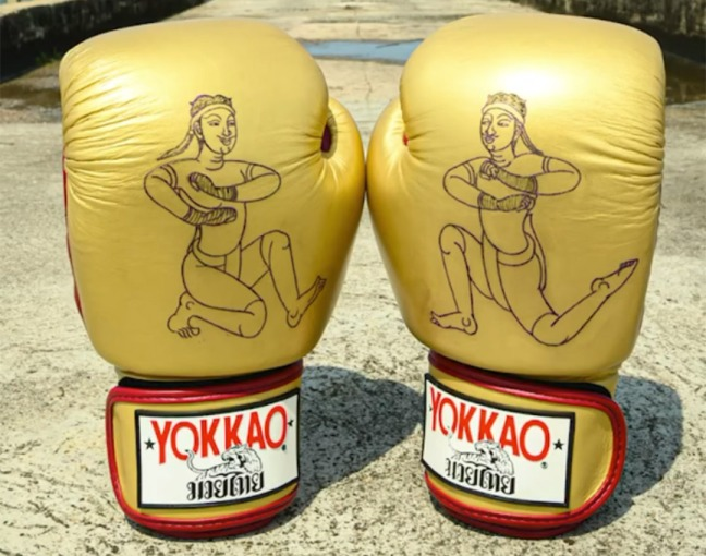Yokkao 'Tattooed' Customised Boxing Gloves