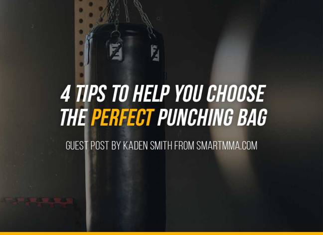 4 Tips To Help You Choose The Perfect Punching Bag