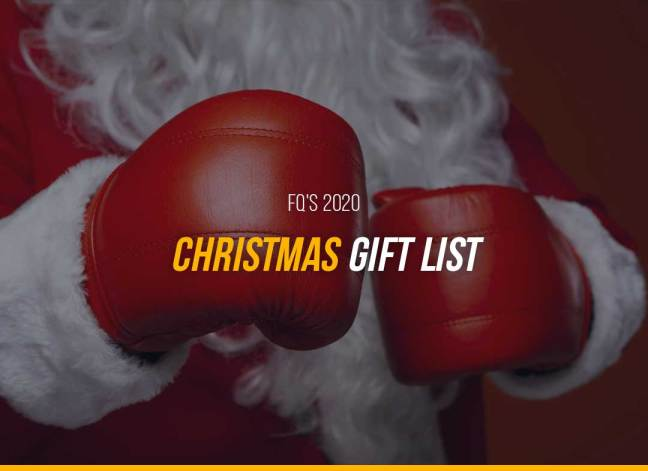 FQ's 2020 Christmas Gift List