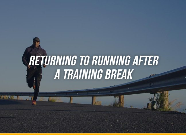 Returning to Running After a Training Break